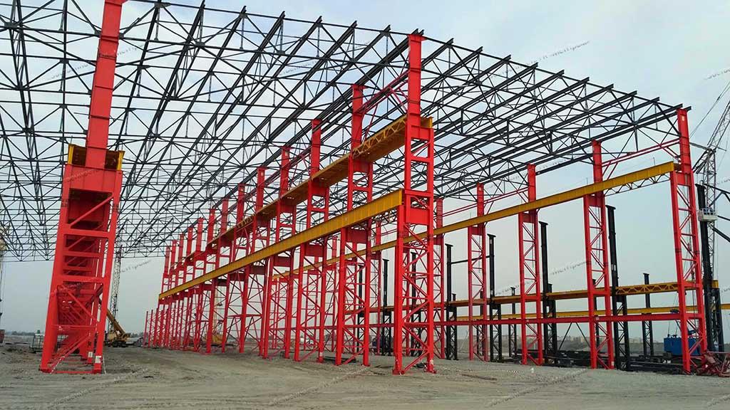 Панели для Ташкентского металлургического завода